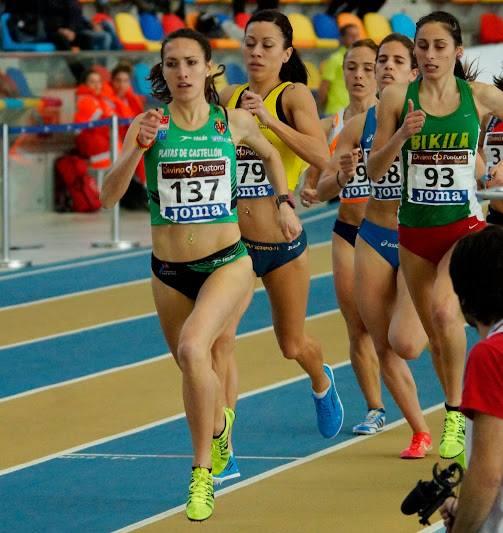 Laura MendezTirando del Grupo Campeonato de España Absouto