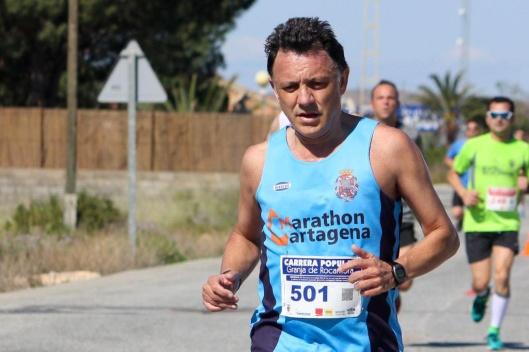 RAMÓN SOBRINO marathon cartagena
