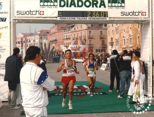 RAMÓN SOBRINO marathon venecia 1995