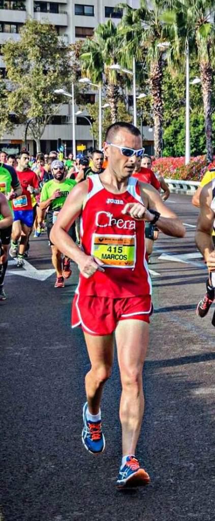 media maratón Valencia